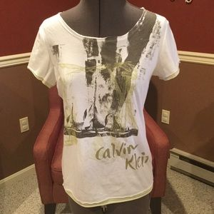 Women's Calvin Klein graphic t-shirt